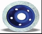 Continuous Diamond Blade Grinding Wheel For Porcelain Tile / Granite / Marble