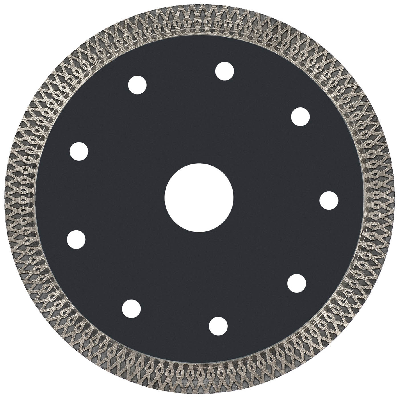 Super Thin Turbo Sintered Circular Diamond Saw Blades Hot Press For Smooth Cutting